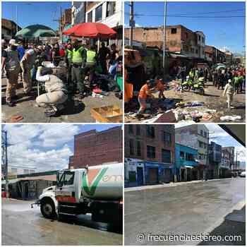 Se pusieron las pilas¡ En el sector de Cúcuta con La Paz en el centro de Medellín realizaron operativo de limpieza - Ultimas Noticias Frecuencia Estéreo
