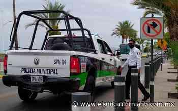 Sujetos asaltan licorería en La Paz, se llevaron dinero y botellas de whisky - El Sudcaliforniano