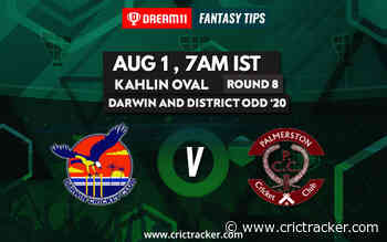 Darwin and District ODD 2020: Round 8 – Darwin CC vs Palmerston CC – Dream11 Fantasy Cricket Tips – Playing XI, Pitch Report & Injury Update - CricTracker