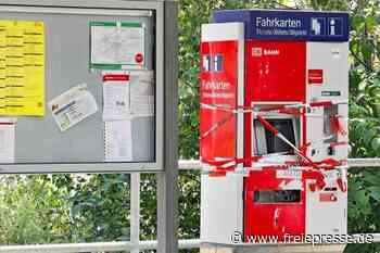 Crimmitschau: Fahrkartenautomat gesprengt - 20.000 Euro Schaden - Freie Presse