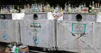 Überfüllte Glascontainer bleiben Ärgernis in Blieskastel, Biesingen und Lautzkirchen - Saarbrücker Zeitung