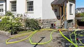 Menden: Doppelhaus nach Brand geräumt - WP News