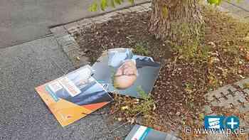 CDU-Wahlplakate in Menden: Attacke auf Kandidaten-Werbung - WP News