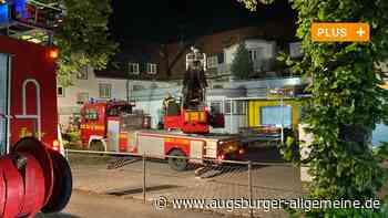 """Großbrand in Greifenberg: """"Plötzlich war der Fernseher aus undalles dunkel"""""""
