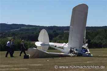 Pilot (56) stirbt bei Absturz eines Ultraleichtflugzeugs bei Schwerte - Ruhr Nachrichten