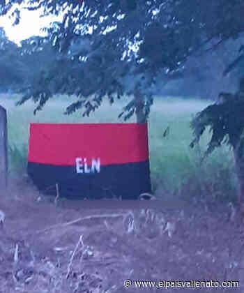 Bandera alusiva al Eln generó temor en Pelaya | EL PAÍS VALLENATO - El País Vallenato