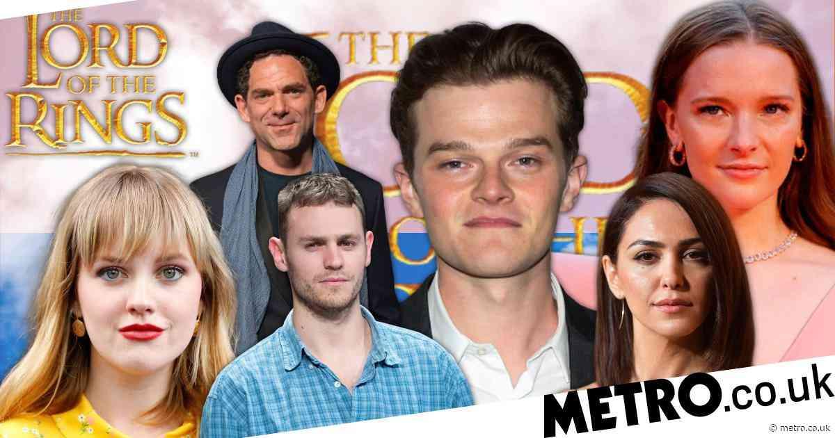 Lord of the Rings TV series: Follow the cast on social media from Nazanin Boniadi to Owain Arthur