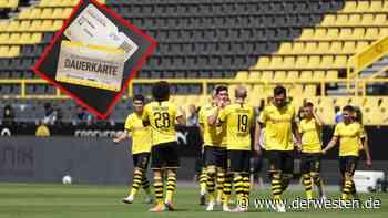 Borussia Dortmund: DAS müssen Dauerkarten-Besitzer jetzt wissen - Derwesten.de