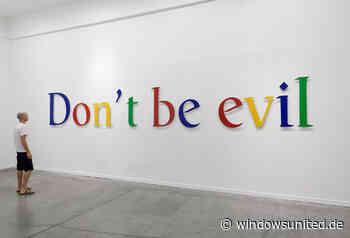 Google manipuliert Mail-Nachrichten der Nutzer – diese wissen von nichts - WindowsUnited
