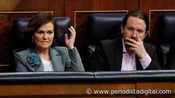'Fraticidio Político': Iglesias usa el panfleto de Dina para hostigar a Carmen Calvo - Periodista Digital
