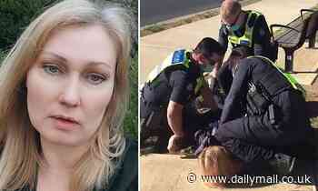 Mother arrested for breaking Melbourne's COVID-19 restrictions opens up about the horrific ordeal