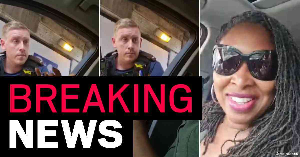 Dawn Butler tells police as she's stopped: 'It's like you can't drive around while black'
