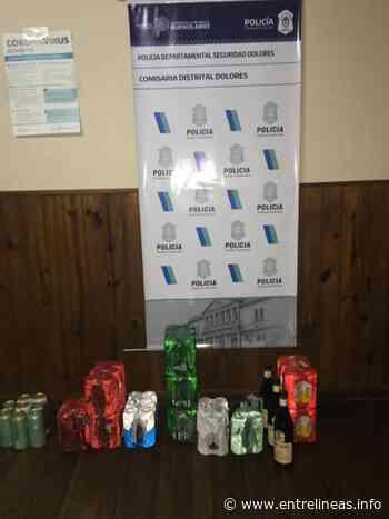 Dolores: demoraron a un delivery por venta de alcohol - Entrelíneas.info