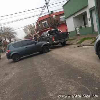 Tres vehículos protagonizaron un accidente de tránsito en Dolores - Entrelíneas.info