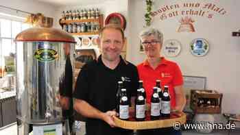 In Hessens kleinster Brauerei: Hoffest mit Show-Brauen in Borken - HNA.de