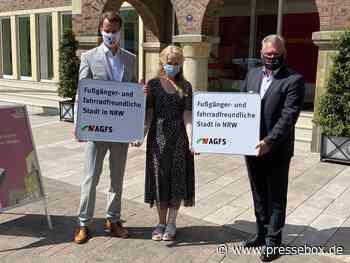 Stadt Borken wird 90. Mitglied in der AGFS, Arbeitsgemeinschaft fußgänger- und fahrradfreundlicher Städte, Gemeinden und Kreise in NRW eV, Pressemitteilung - PresseBox.de