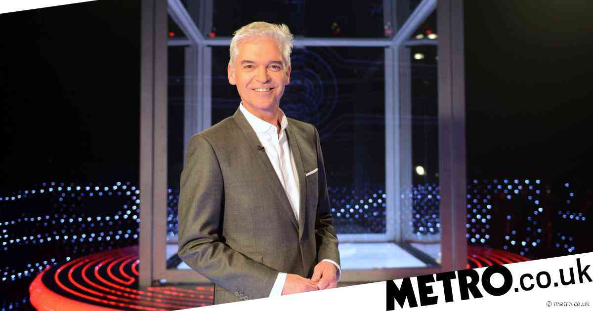 Phillip Schofield begins filming for brand new series of The Cube five years after last episode