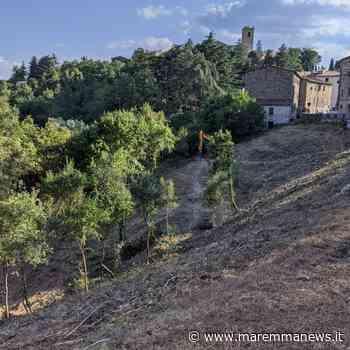 Monterotondo Marittimo: ripulito il fosso del Moretti adiacente agli ex Lavatoi - Maremmanews