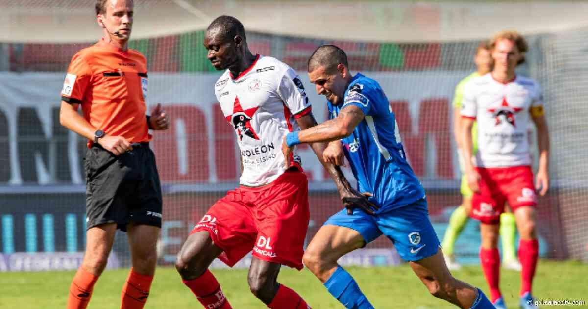Daniel Muñoz y su debut oficial con el Genk, en el triunfo 2-1 sobre el Zulte Waregem - Gol Caracol