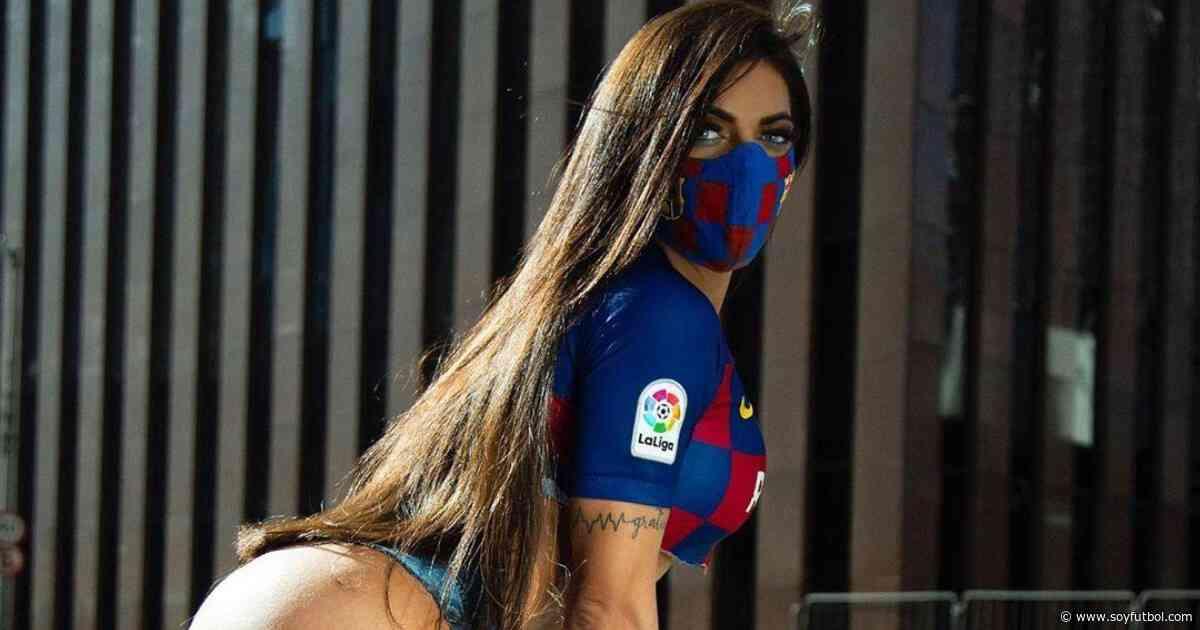 Suzy Cortez celebra el triunfo del FC Barcelona con candente video - SOY FUTBOL