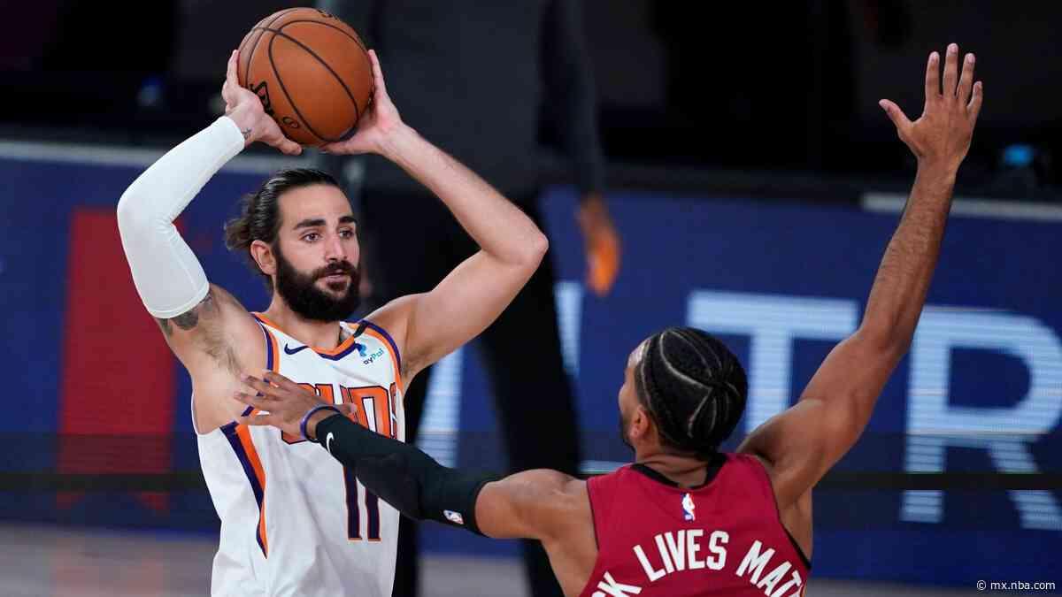 """Ricky Rubio tras un nuevo triunfo de Phoenix Suns: """"El 5-0 está muy bien pero no hemos hecho nada aún"""" - NBA MX"""