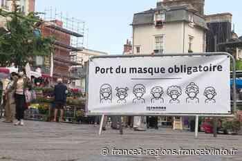 À Rennes, le port du masque obligatoire en extérieur bien accueilli mais pas toujours appliqué - France 3 Régions