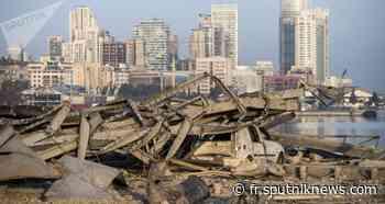 La Turquie est prête à restaurer le port endommagé de Beyrouth - Sputnik France