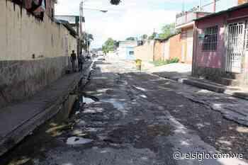 Calle Guama del barrio José Félix Ribas tiene 5 años en pésimas condiciones - Diario El Siglo