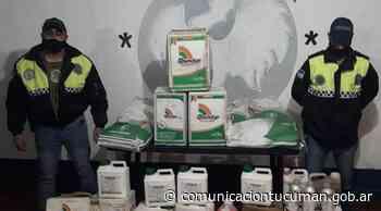 Secuestran objetos robados a un productor de Piedra Blanca - Comunicación Tucumán
