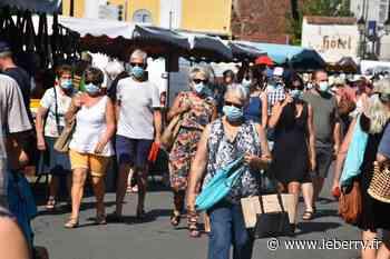 À Saint-Amand-Montrond, le public n'a pas boudé le premier marché en plein air avec obligation de porter le masque - Le Berry Républicain