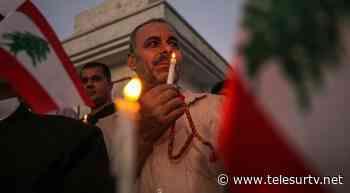 Irak y Argelia asisten a víctimas de explosión en el Líbano - teleSUR TV