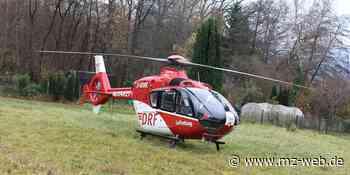 Unfall bei Brandis: Mann fällt Baum mit Traktor - Ehefrau schwer verletzt - Mitteldeutsche Zeitung