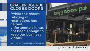 Bracebridge pub blames COVID-19 struggles for closure