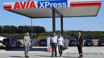 Die neue Tankstelle in Maroldsweisach ist eröffnet - Main-Post