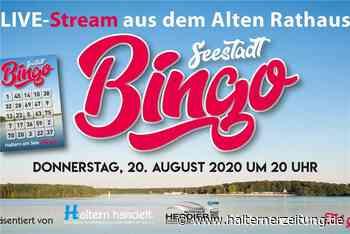 Stadt und Werbegemeinschaft laden zum Seestadt-Bingo ein - tolle Preise - Halterner Zeitung