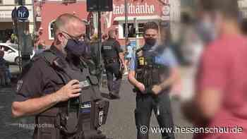 Video: Corona-Beschränkungen in Offenbach   hessenschau.de   TV-Sendung - hessenschau.de