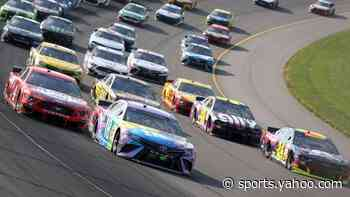 What drivers said after Sunday Cup race at Michigan