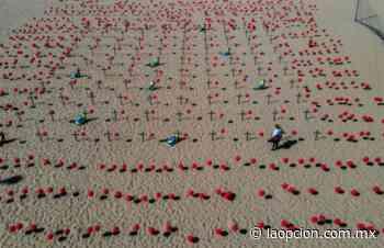 Rinden homenaje en playa del carmen a víctimas de covid-19 - La Opcion
