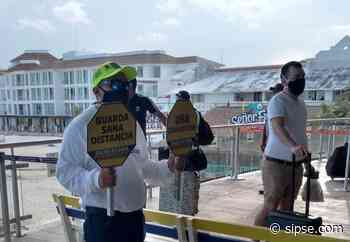 Cierran filtro sanitario en terminal marítima de Playa del Carmen - sipse.com