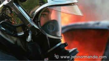 Eure : une maison désaffectée embrasée à Gisors, vingt-cinq sapeurs-pompiers mobilisés - InfoNormandie.com
