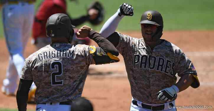 Padres erupt for six home runs, beat D-backs 9-5