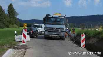 Peiting: Heißer Baustellensommer hat begonnen: Wo Autofahrer mit Umleitungen rechnen müssen - Merkur.de