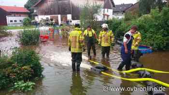 Bad Aibling/Feldkirchen-Westerham: die Hochwasserlage im Mangfalltal - ovb-online.de