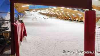 A Comines, le long de la frontière belge, on peut faire du ski malgré l'alerte rouge canicule - France Bleu