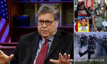 Bill Barr says 'socialist' Black Lives Matter protesters have created 'urban guerrilla warfare'
