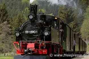 Preßnitztalbahn macht Dampf - Freie Presse