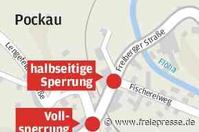 Knotenpunkt in Pockau dicht - Freie Presse