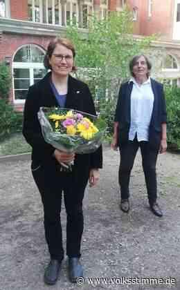 Neue Pfarrerin begrüßt - Volksstimme