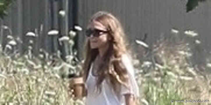 Mary-Kate Olsen Enjoys Some Early Morning Horse Watching in The Hamptons