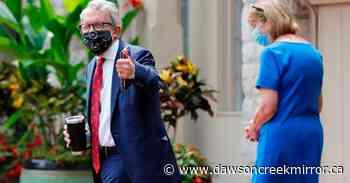 Ohio Gov. Mike DeWine again tests negative for coronavirus - Dawson Creek Mirror